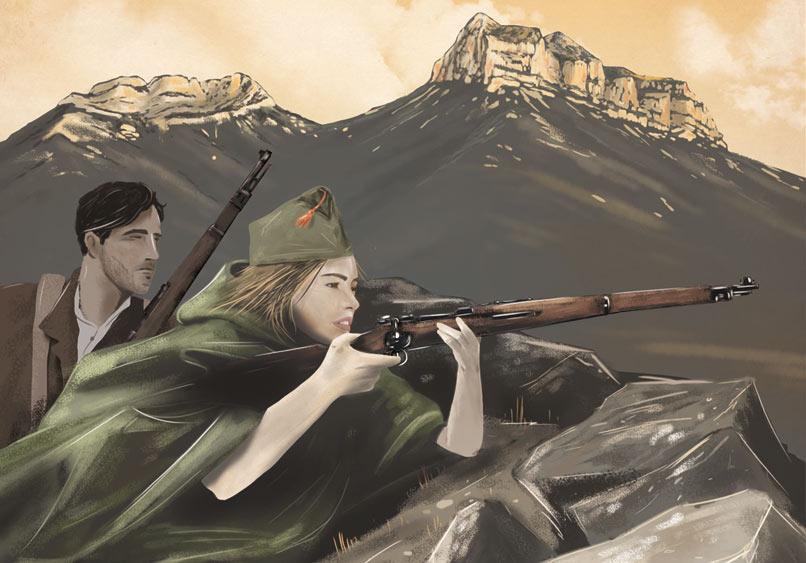 El Almanaque de los Pirineos 2016 (1935-1945) aborda la década bélica: Guerra Civil española y II Guerra Mundial