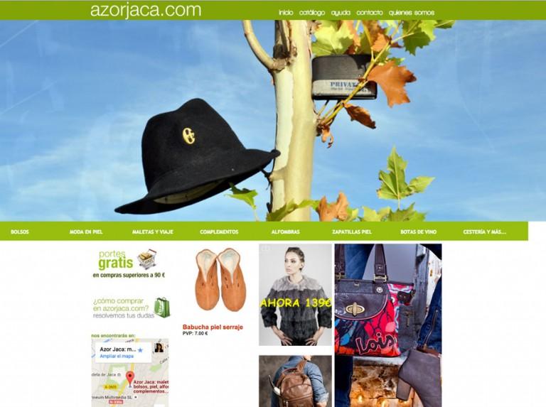 Tienda online de AZOR Jaca