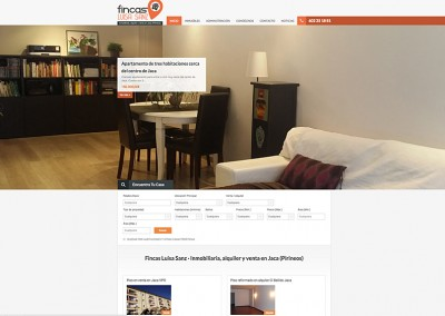 Web inmobiliaria: Fincas Luisa Sanz