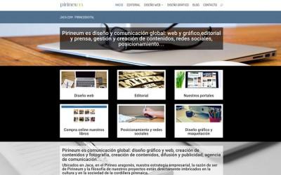 Pirineum estrena nueva web