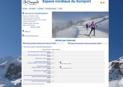 Venta online de bonos www.lesomport.com