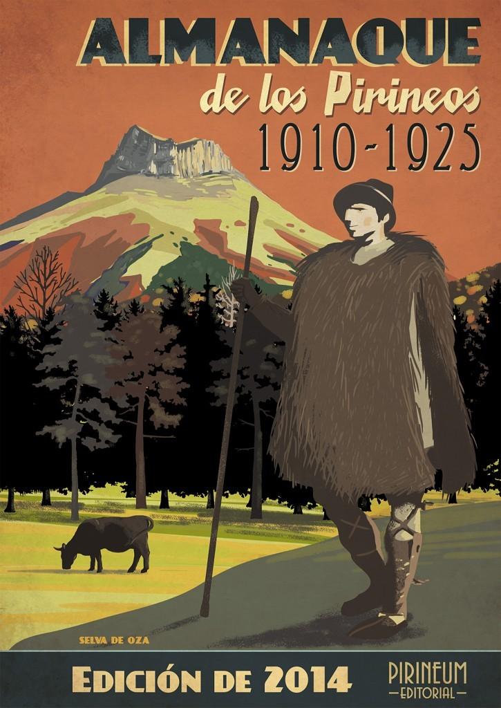 Portada Almanaque de los Pirineos edición 2014