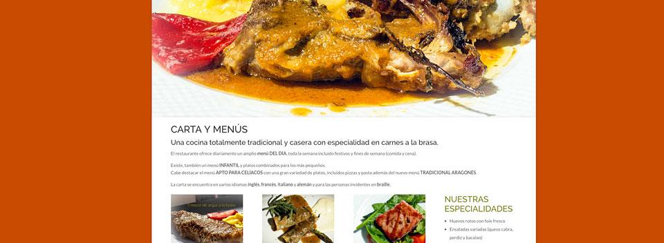 Webs turísticas: hoteles, restaurantes, institucionales...