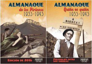 PACK Almanaques de los Pirineos 2016