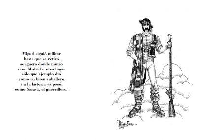 Diseño y maquetación del libro «Miguel Sarasa…»