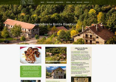 Web en WordPress para Borda Bisaltico