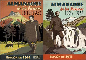 PACK Almanaques de los Pirineos 2014 y 2015