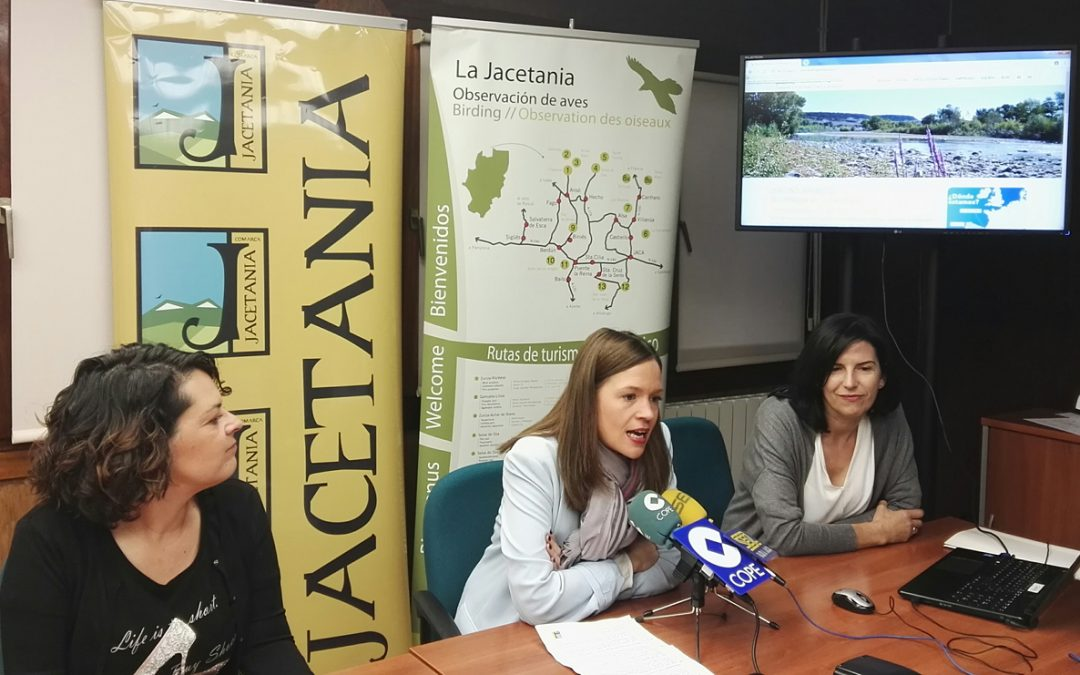 En marcha la nueva web de turismo ornitológico de la Jacetania