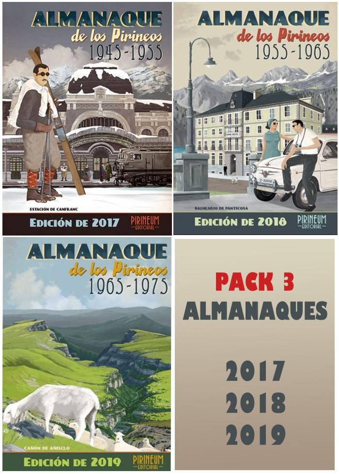 Almanaque de los Pirineos 1945-1955. Edición 2017