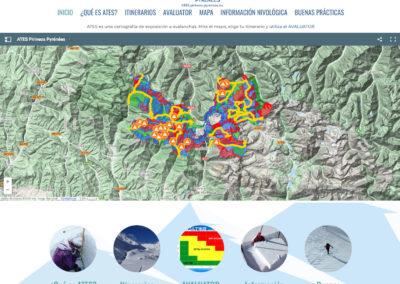 WEB del ATES de Inturpyr Pirineos – Pyrénées