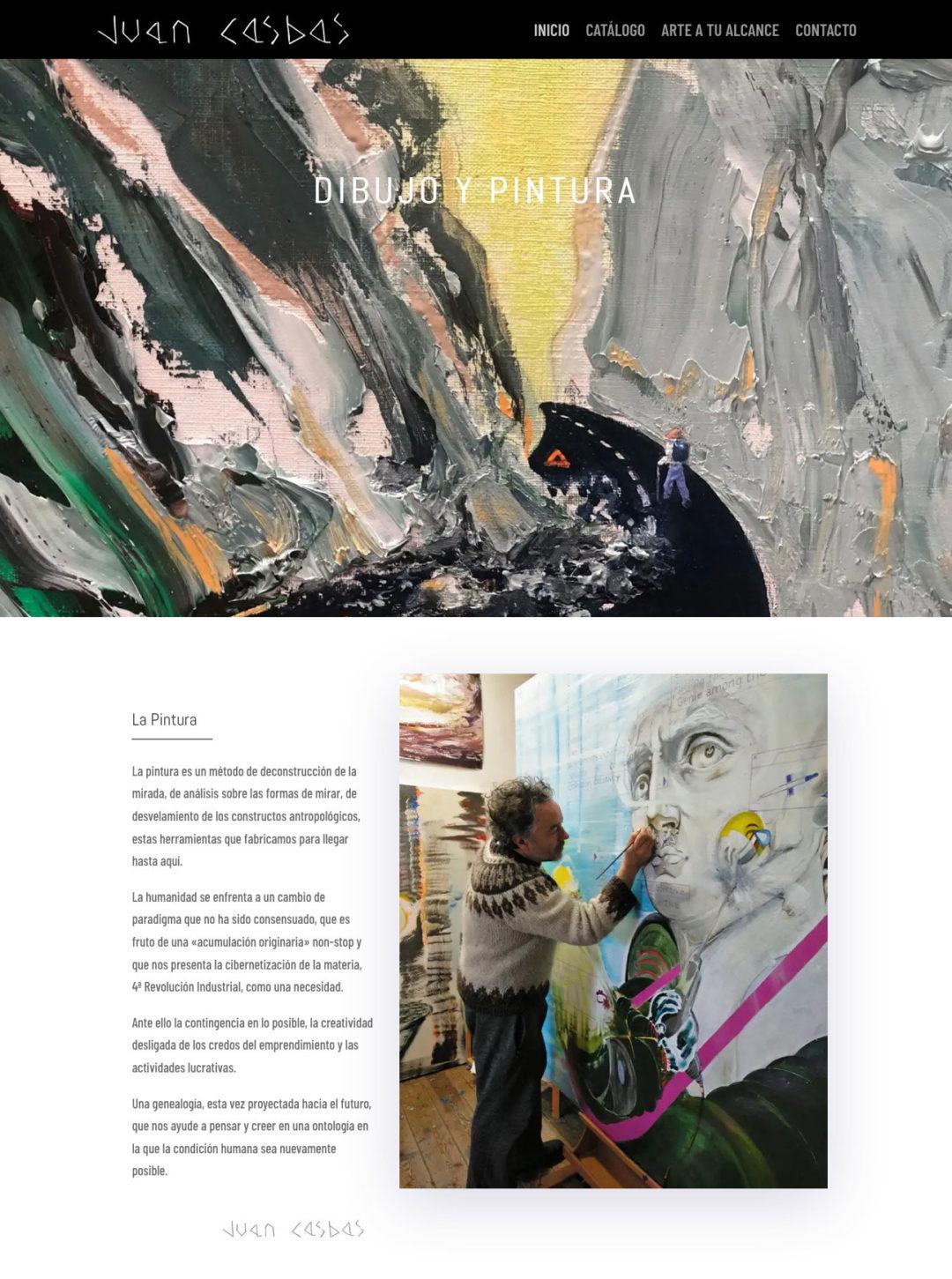 Web de Juan Casbas – dibujo y pintura
