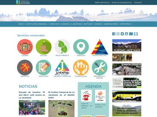 Web Comarca de la Jacetania