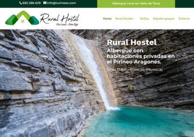 Rural Hostel. Albergue rural en el Valle de Tena