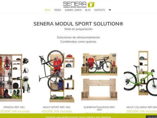 Senera Modul Sport. Diseño web y Tienda online