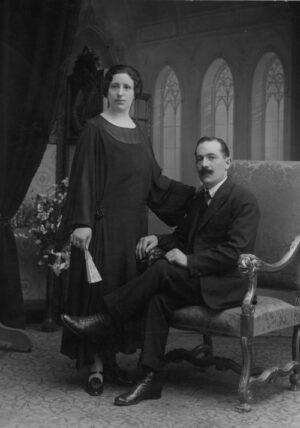 Teresa Sayó y Antonio Abadías