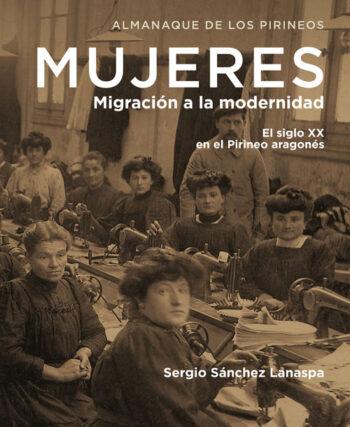 """Portada del libro """"Mujeres, migración a la modernidad"""""""