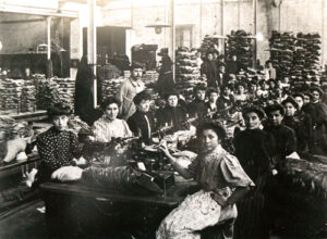 Taller en Mauléon, golondrinas que cruzaban la frontera para trabajar en la industria del piedemonte francés